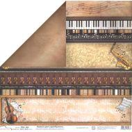 Бумага 462, коллекция Ноты