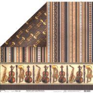 Бумага 461, коллекция Ноты