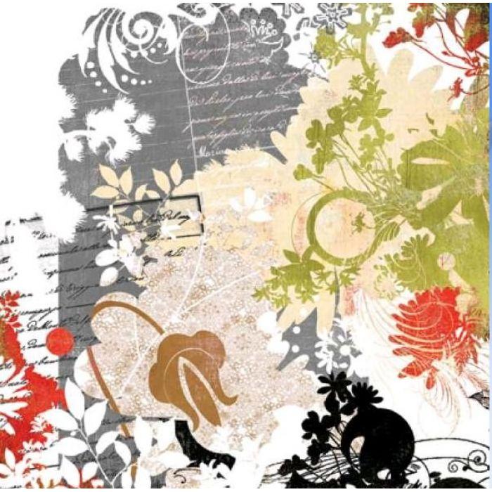 Бумага Letters to the World, коллекция  Scarlet's Letter для скрапбукинга