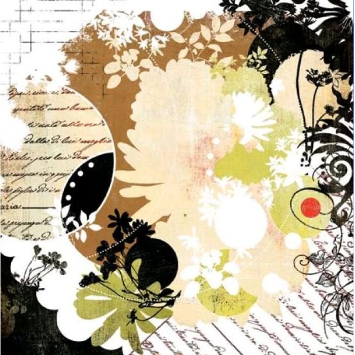 Бумага, коллекция  Scarlet's Letter,  Love Letters для скрапбукинга