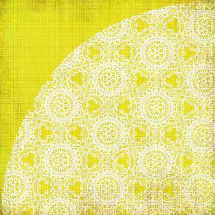 Бумага, коллекция  Nook and Pantry, Lemon Meringue Pie для скрапбукинга