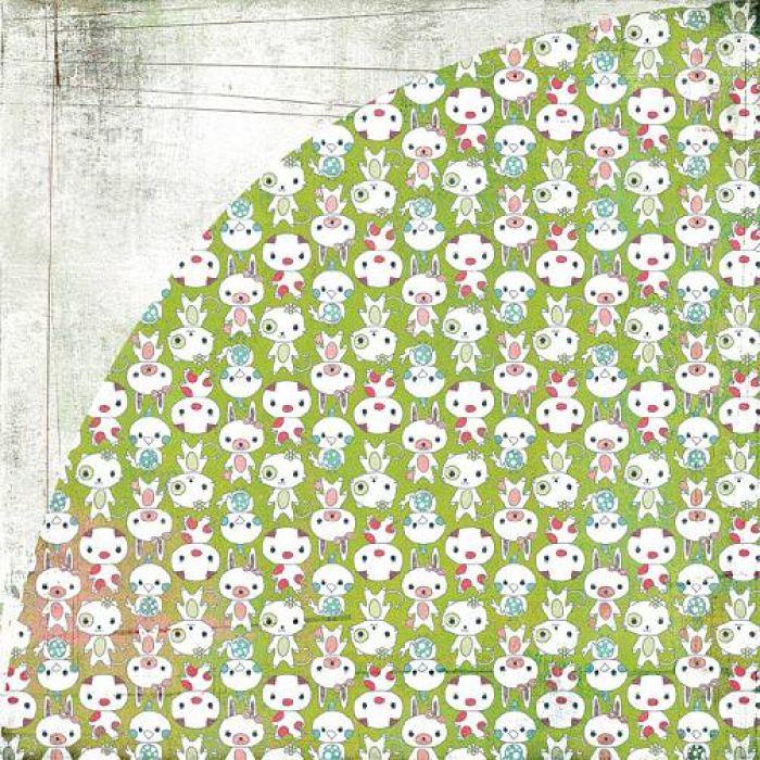 Бумага, коллекция  Olivia, Isabella для скрапбукинга
