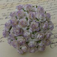 Розы оттенки лилового, 25 мм
