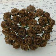 Розы оттенки коричневого, 25 мм
