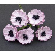 Цветы мака розовые, 20 мм