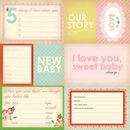 Бумага Our Story, коллекция Baby Mine Girl