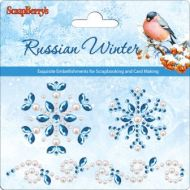 Аппликация самоклеющаяся Русская Зима