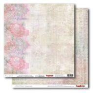 Бумага Облако цветов, коллекция Цветные Сны