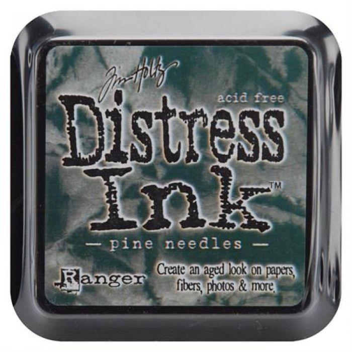 Дистрессинговые чернила, цвет Pine Needles, Ranger Ink для скрапбукинга