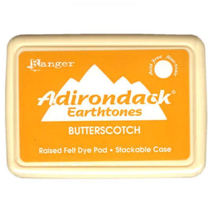 Чернила Adirondack® Dye Ink, цвет Butterscotch, Ranger Ink для скрапбукинга