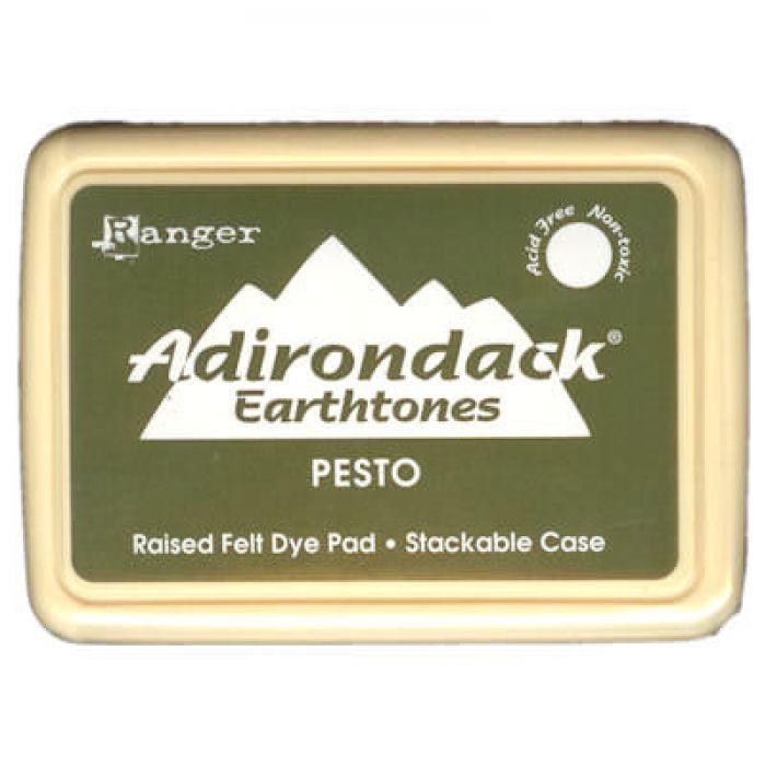 Чернила Adirondack® Dye Ink, цвет Pesto, Ranger Ink для скрапбукинга