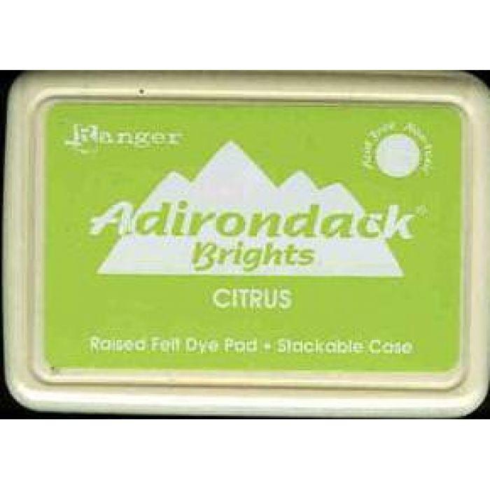 Чернила Adirondack® Dye Ink, цвет Citrus, Ranger Ink для скрапбукинга