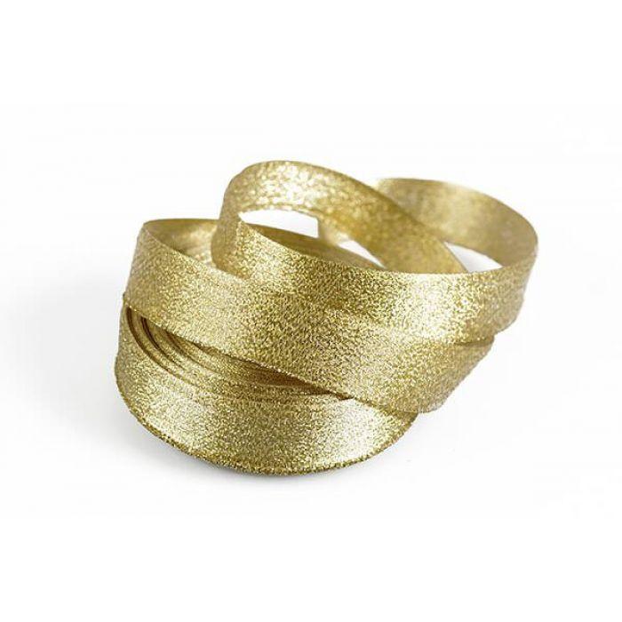 Лента Парча золотая для скрапбукинга