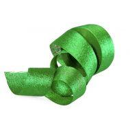 Лента Парча зеленая