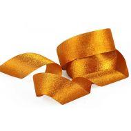 Лента Парча оранжевая
