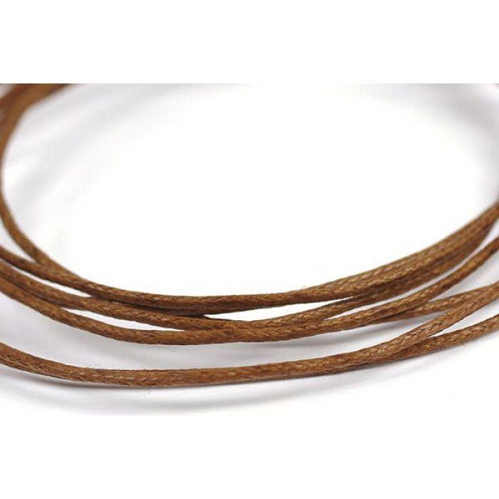 Светло коричневый вощёный шнур для скрапбукинга