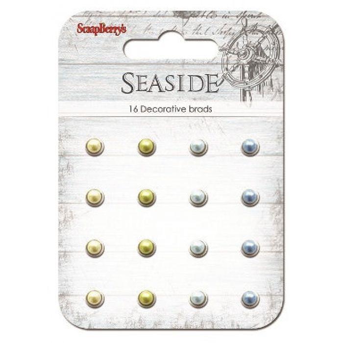 Набор жемчужных брадсов Море для скрапбукинга