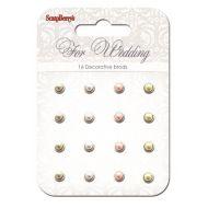 Набор жемчужных брадсов Свадьба