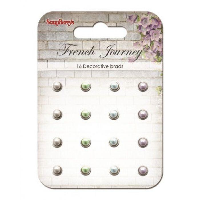 Набор жемчужных брадсов Французское путешествие 2 для скрапбукинга