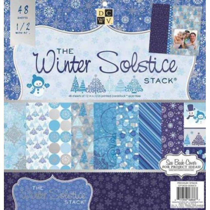 Набор бумаги Winter Solstice, 30*30 см  для скрапбукинга