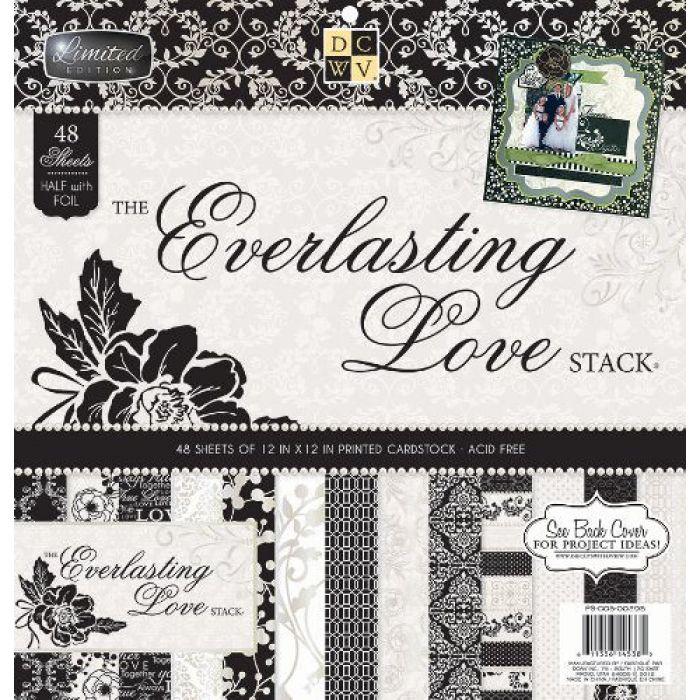 Набор бумаги Everlasting Love, 30*30 см  для скрапбукинга