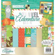 Набор бумаги Travel Adventure, 30*30 см