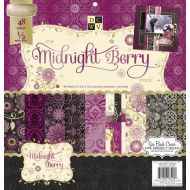 Набор бумаги Midnight Berry, 30*30 см