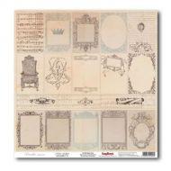 Бумага Зеркальная галерея, коллекция Версаль