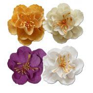 Набор цветков, коллекция Весенний праздник, 5см