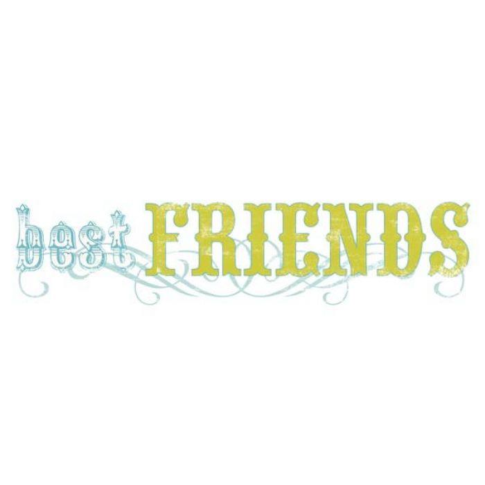 "Натирка ""Best Friends"" для скрапбукинга"