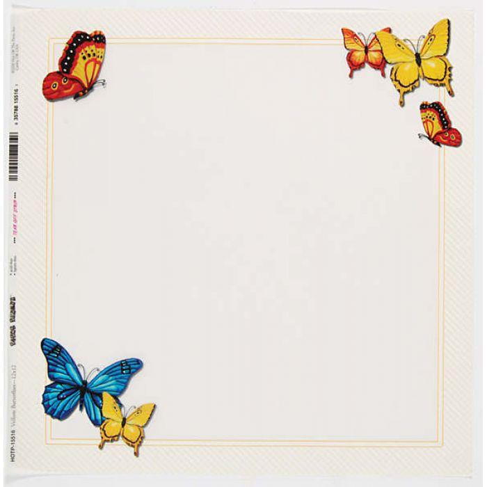 "Калька ""Butterflies""  для скрапбукинга"