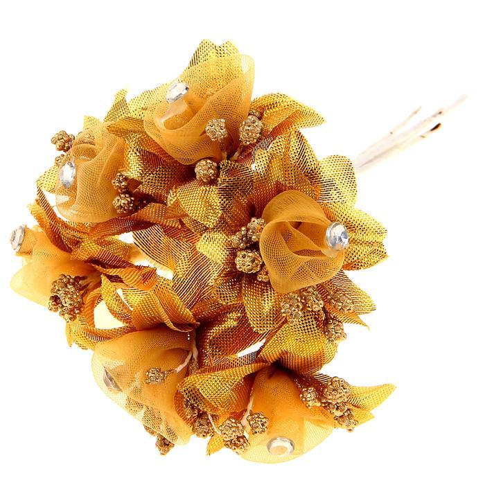 Цветы Альстрёмерия золотая для скрапбукинга