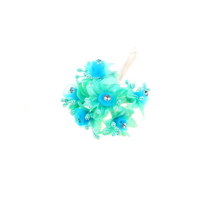 Цветы Альстрёмерия голубая для скрапбукинга