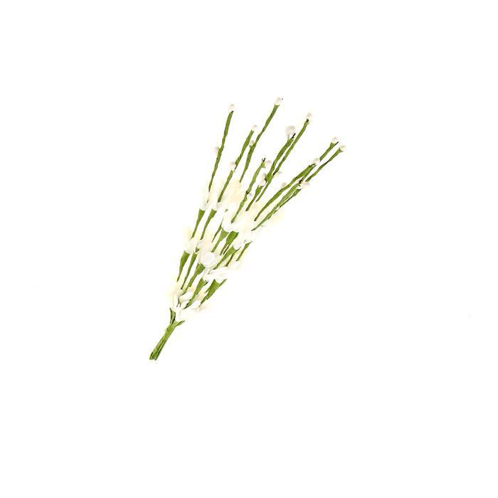 Ветвь цветущая белая для скрапбукинга