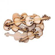 Скрипка, 2,7 х 6,3 см