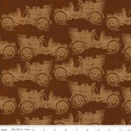 Отрез ткани Машины, коллекция Дом бабушки