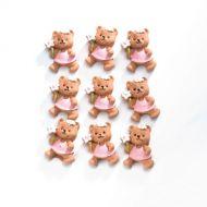 Медвежата в розовом