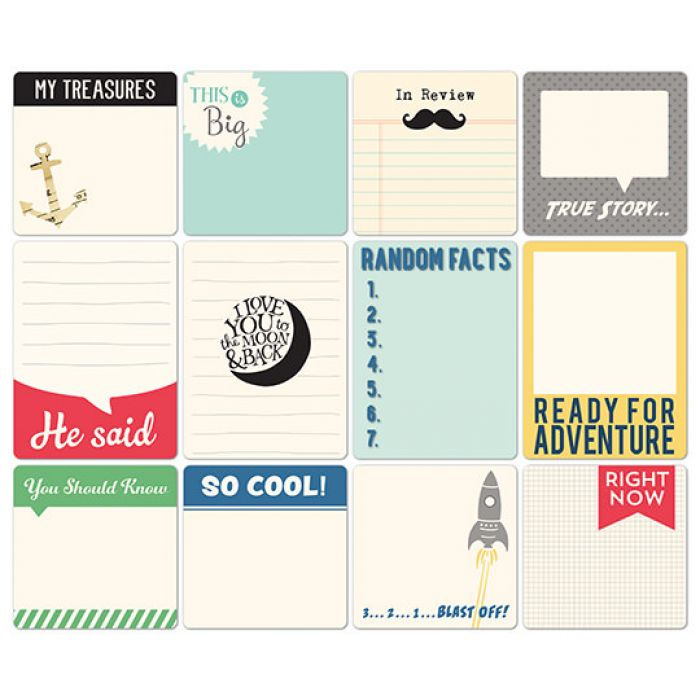 Набор карточек, коллекция All Boy для скрапбукинга
