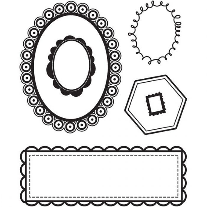 Набор силиконовых штампов, коллекция Max and Whiskers для скрапбукинга