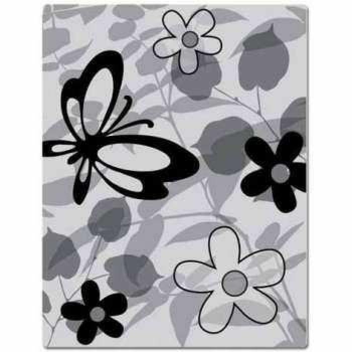 Штамп резиновый Floral, коллекция Lauderdale для скрапбукинга