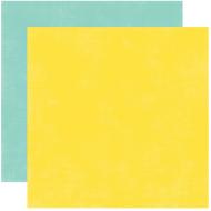 Бумага, коллекция  Splash, SOLID YELLOW/TEAL
