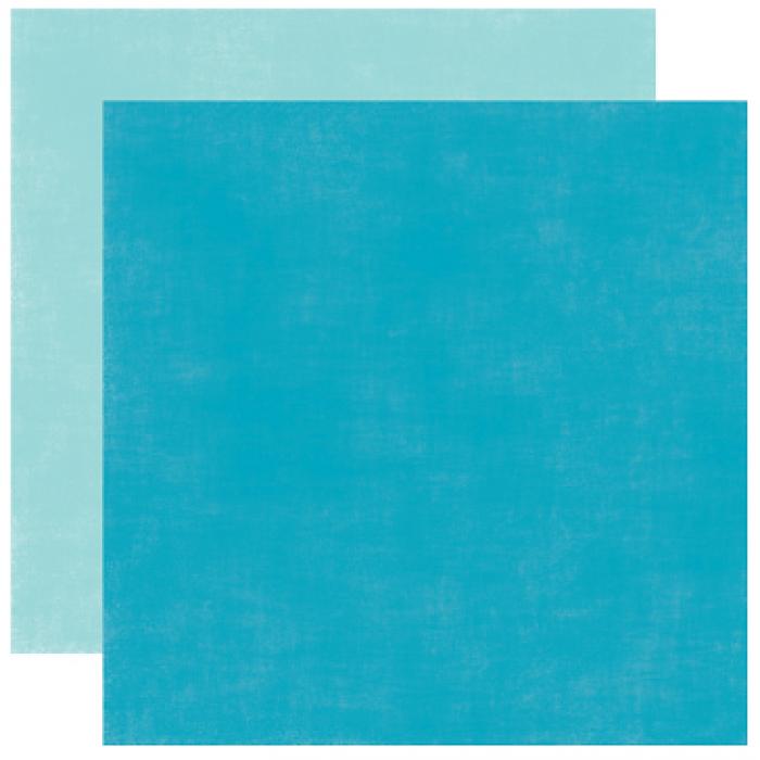 Бумага, коллекция  Splash, SOLID BLUES для скрапбукинга