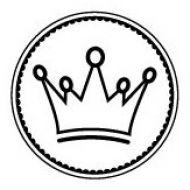 Штамп корона принца