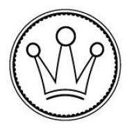 Штамп корона принцессы