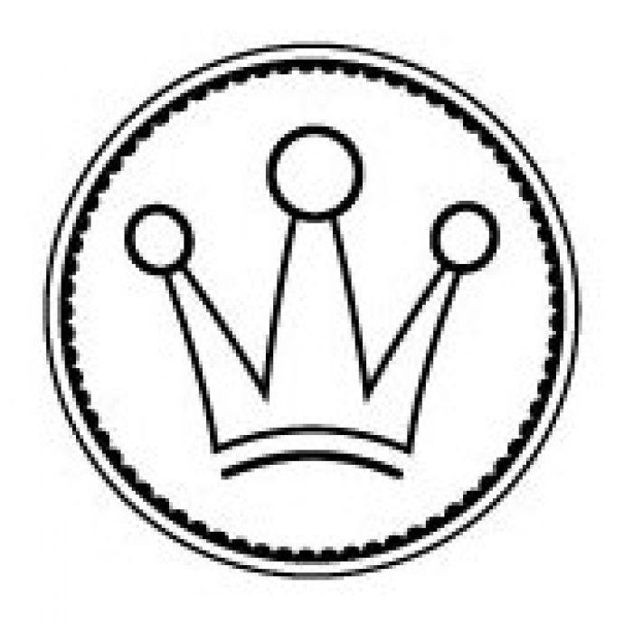 Штамп корона принцессы для скрапбукинга