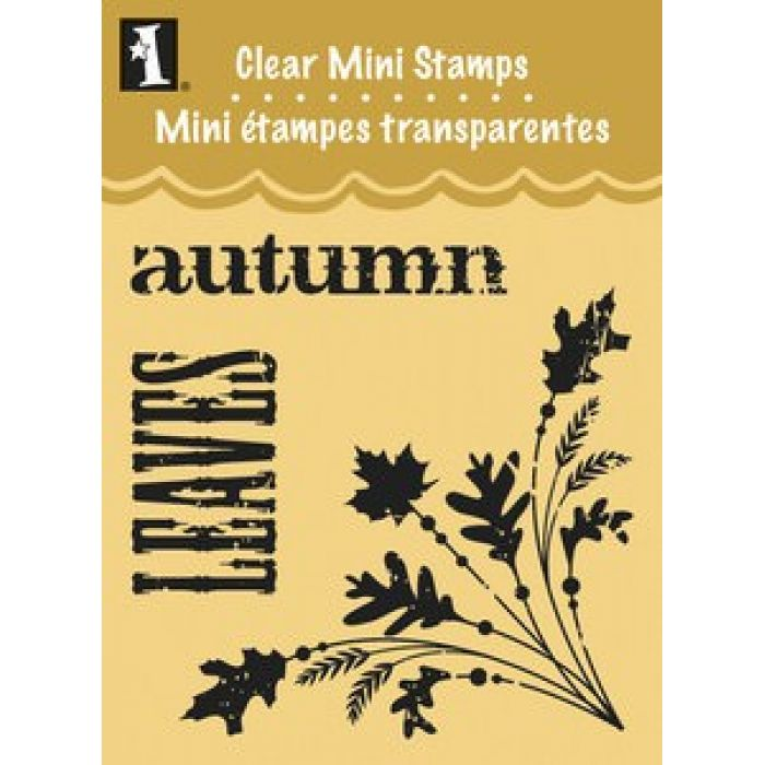 """Штамп силиконовый """"Autumn Corner"""" для скрапбукинга"""
