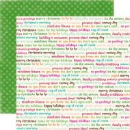 Бумага GLAD TIDINGS, коллекция  Holly Jolly
