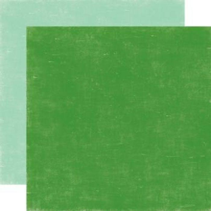 Бумага GREEN/ICICLE BLUE, коллекция  Holly Jolly для скрапбукинга