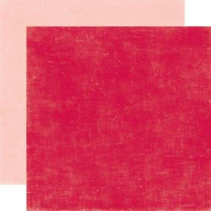 Бумага, коллекция  Holly Jolly, CANDY CANE RED/PEPPERMINT PINK   для скрапбукинга
