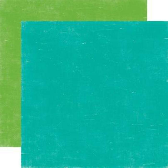 Бумага YULETIDE BLUE/MISTLETOE, коллекция  Holly Jolly для скрапбукинга